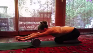 Foam Rolling Forearms